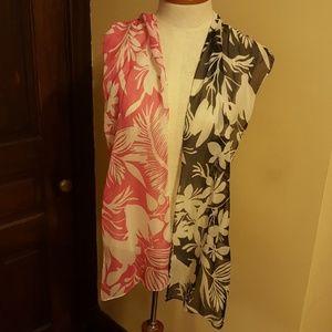 Accessories - 2 Floral Dress Scarves